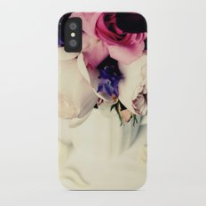 Rose Petal iPhone X Slim Case
