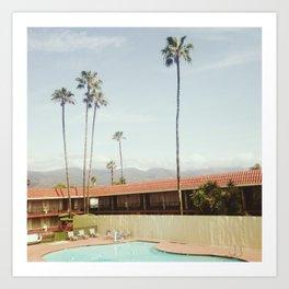 Los Holiday Inn Art Print