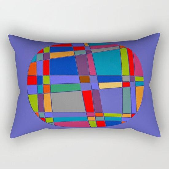 Abstract #68 Rectangular Pillow
