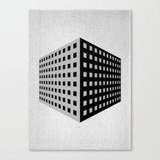 livinginacage Canvas Print