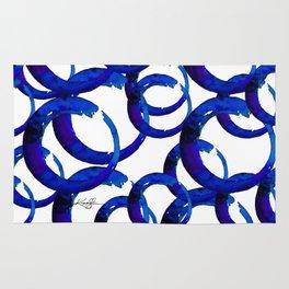 Enso Of Zen No. 21 by Kathy Morton Stanion Rug