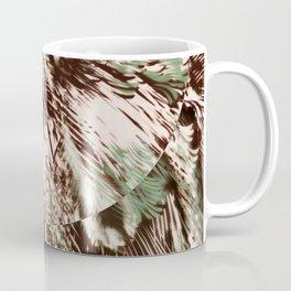 feather texture on circle Coffee Mug