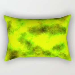 Stained Glass Camo -- BioHazard Rectangular Pillow