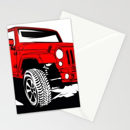 Offroad 4X4 Stationery Cards
