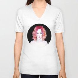 Shirley Manson (Garbage) Unisex V-Neck