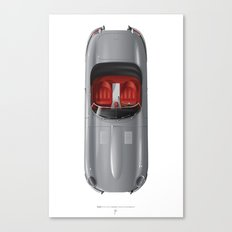 Classic Series N.º1, Jaguar E Canvas Print