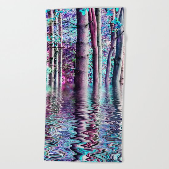 PEACE TREE-TY Beach Towel