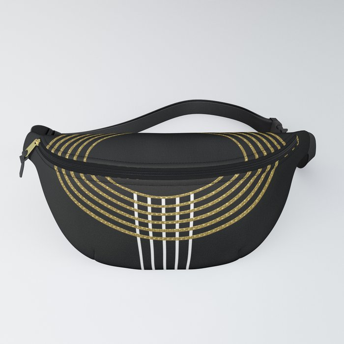 GUITAR IN ABSTRACT (geometric art deco) Fanny Pack