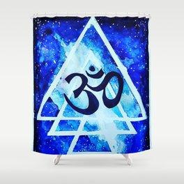 Om universe Shower Curtain