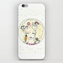 Il pensiero del buongiorno iPhone Skin