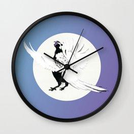 Pheasants Start to Call Wall Clock