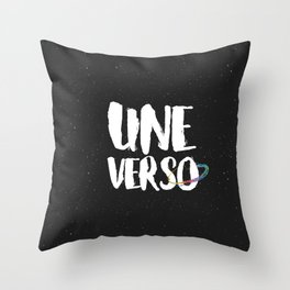 The beginning of the universe Throw Pillow
