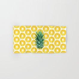 Pineapple Pattern Hand & Bath Towel