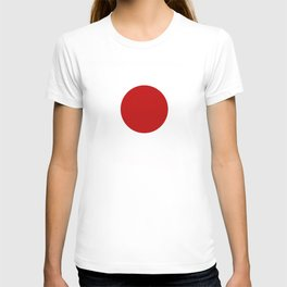 japan country flag T-shirt