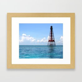Sombrero Reef Framed Art Print