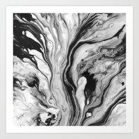 M A R B L E Art Print
