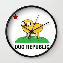 Ooo Republic Wall Clock