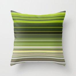 Earth Stripes Throw Pillow