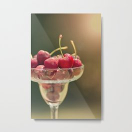 One of my favorite things about summer..... Metal Print