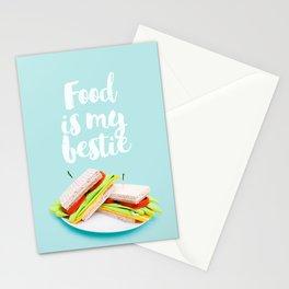 Kitchen Sandwich  Stationery Cards