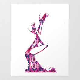 Heels Art Print