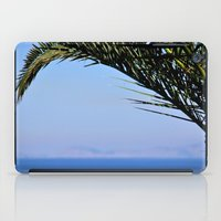 palm tree iPad Cases featuring Palm Tree by M. Gold Photography