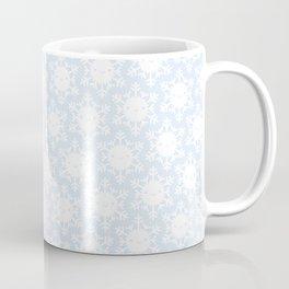 Kawaii Winter Snowflakes Coffee Mug