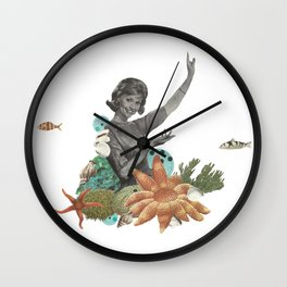 Océano Wall Clock