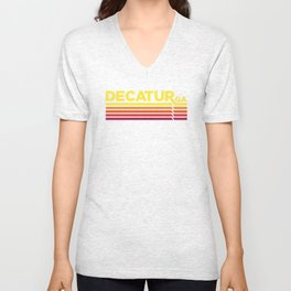 Decatur Where it's Greater Unisex V-Neck