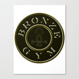 Bronze Gym Canvas Print