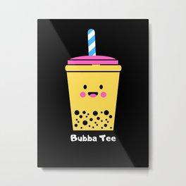 Bubba Tee Metal Print