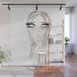 Lady Browny Wall Mural