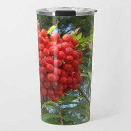 Red rowan clusters Travel Mug