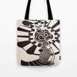 Eroding Shine Tote Bag