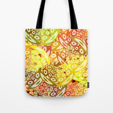 Fruity geometric abstract Tote Bag
