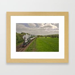Cullompton Steam  Framed Art Print