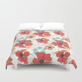 Poppy Bash 1 Duvet Cover