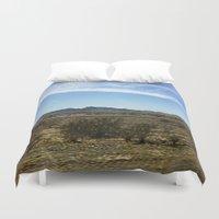 desert Duvet Covers featuring Desert by Rachel Butler