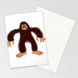 Angry bigfoot Stationery Cards