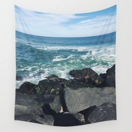 Jersey Shore Jetty Wall Tapestry