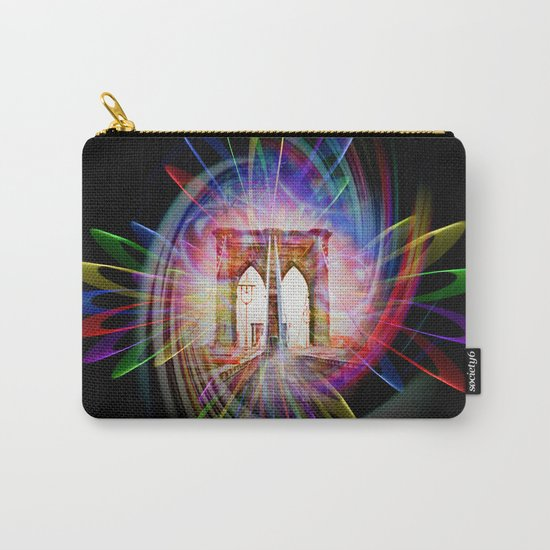 Abstract perfektion - Brooklyn Bridge Carry-All Pouch