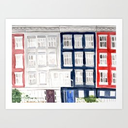 Macdougal St - West Village Art Print