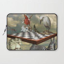 Zebra Upside Down Laptop Sleeve