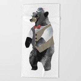 Fancy Bear Beach Towel