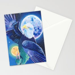 Transformation From Sea to Sky Stationery Cards