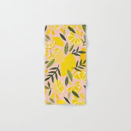 Lemon Blooms – Blush Palette Hand & Bath Towel