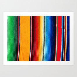 zarape Art Print