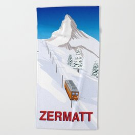 Zermatt Beach Towel
