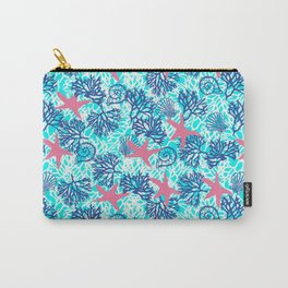 sea and star fish pattern Carry-All Pouch
