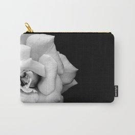 Rose Monochrome Carry-All Pouch